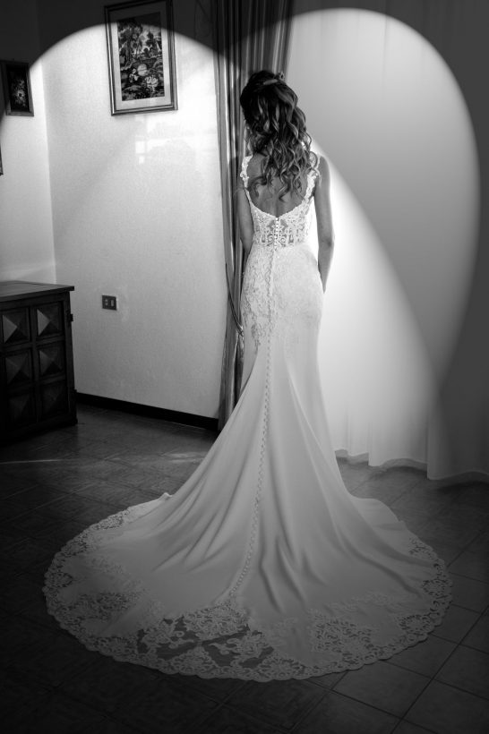 Stunning bride Elena in Stella York wedding gown