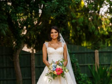 Sophia Tolli real bride Nikini